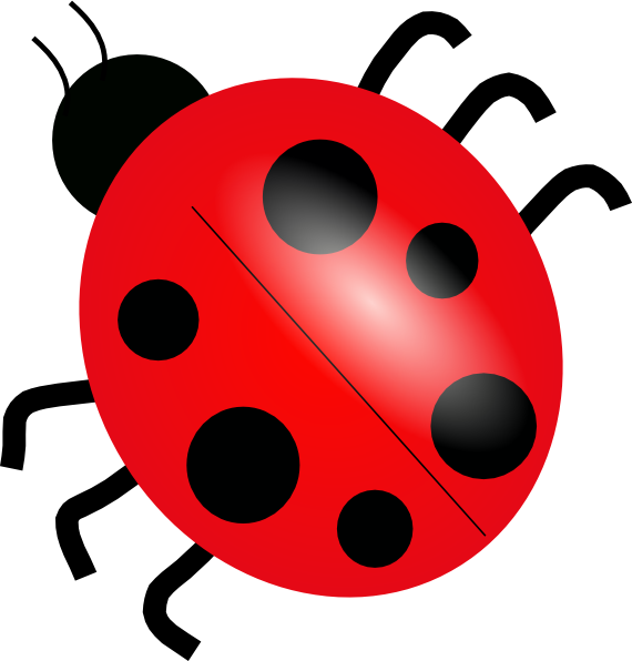 clipart library Clip art at clker. Ladybug clipart.