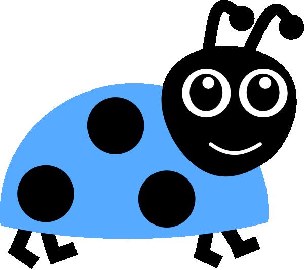 image free download Blue ladybug clip art. Ladybugs clipart family.