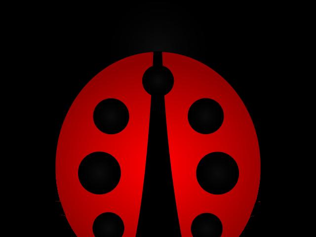 freeuse Ladybug free on dumielauxepices. Ladybugs clipart symmetrical.
