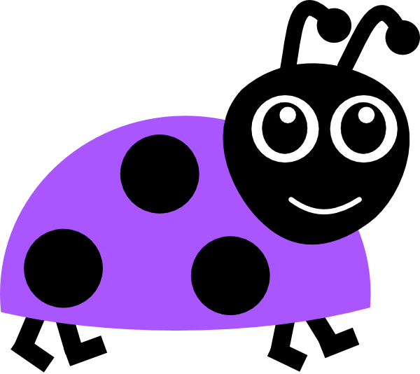 clip art transparent stock Ladybugs clipart vector. Purple ladybug clip art.