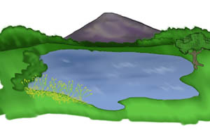 image transparent Free download clip art. Lake clipart
