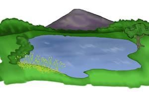 image transparent Free download clip art. Lake clipart.