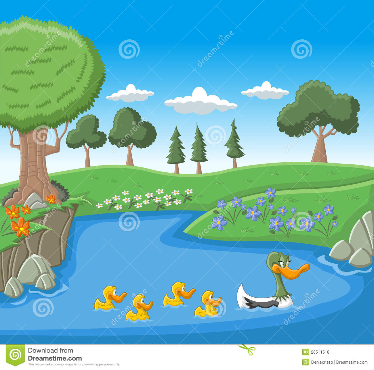 banner library stock Images clip art wallpapers. Lake clipart.