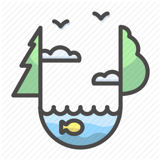 graphic library library Lake clipart ecosystem.  landscapes by alla.