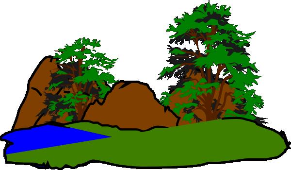 svg freeuse download Green Forest Clip Art at Clker