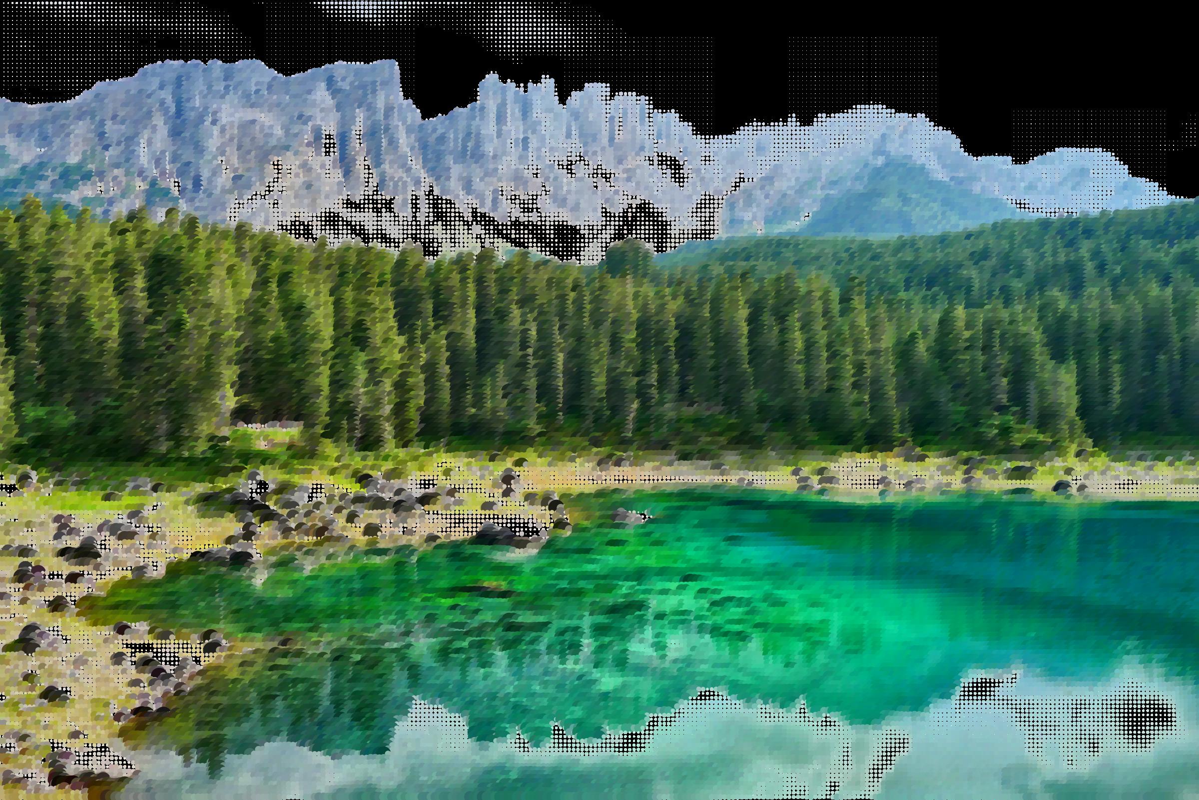 jpg transparent Surreal bergsee germany icons. Lake clipart lake landscape.