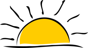 clip Sunset panda free images. Lake clipart sun set.
