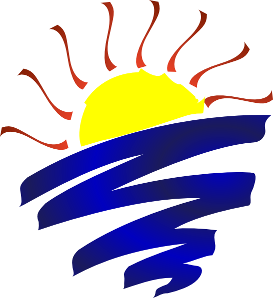 clip download Lake clipart sun set. Sunset champlain clip art.