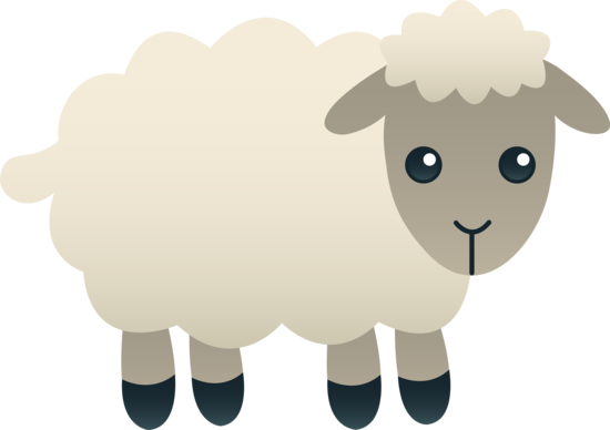 clip black and white download free lamb clipart free clip art of a cute little fluffy white lamb