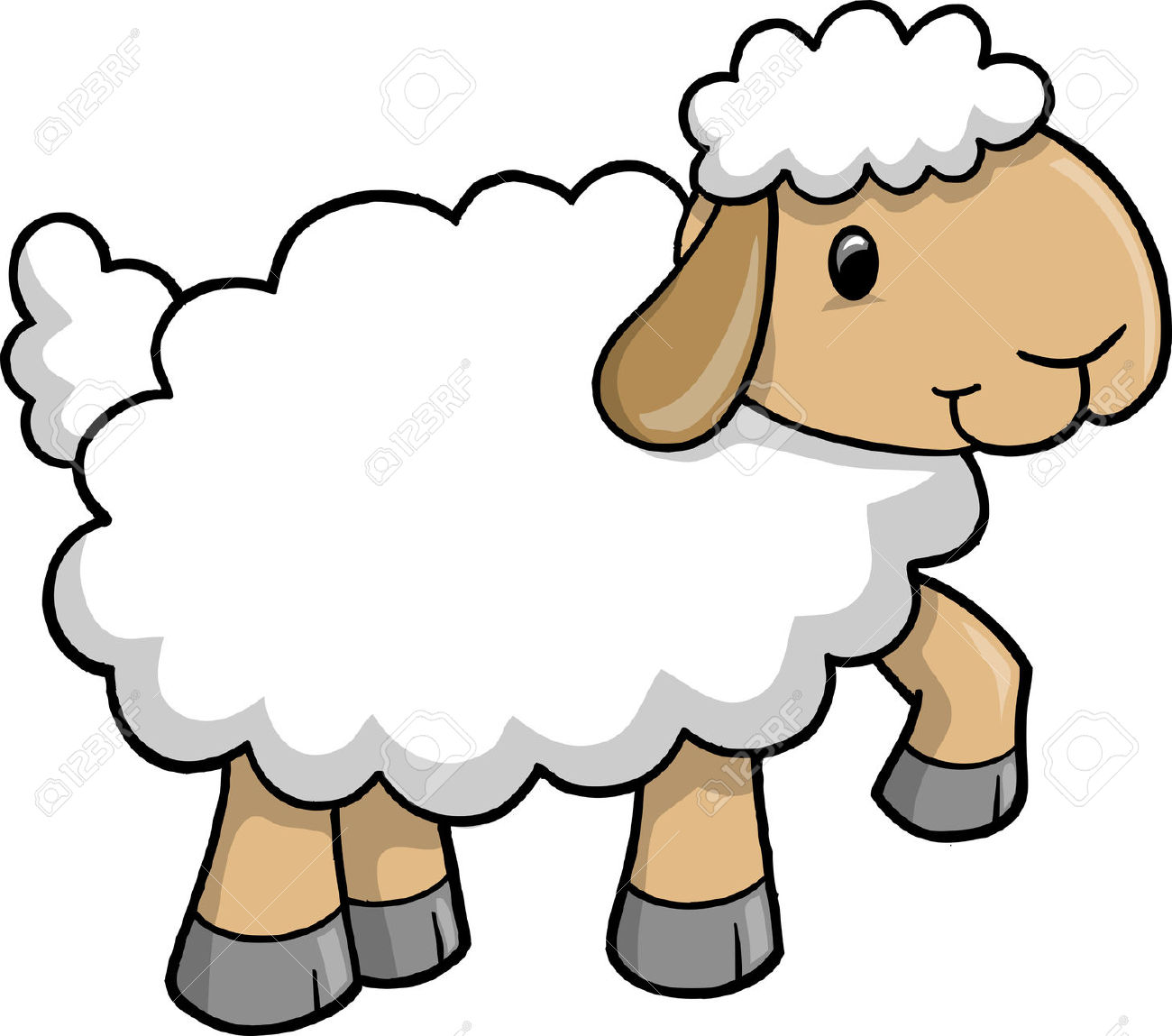 image royalty free library Free download on webstockreview. Lamb clipart.