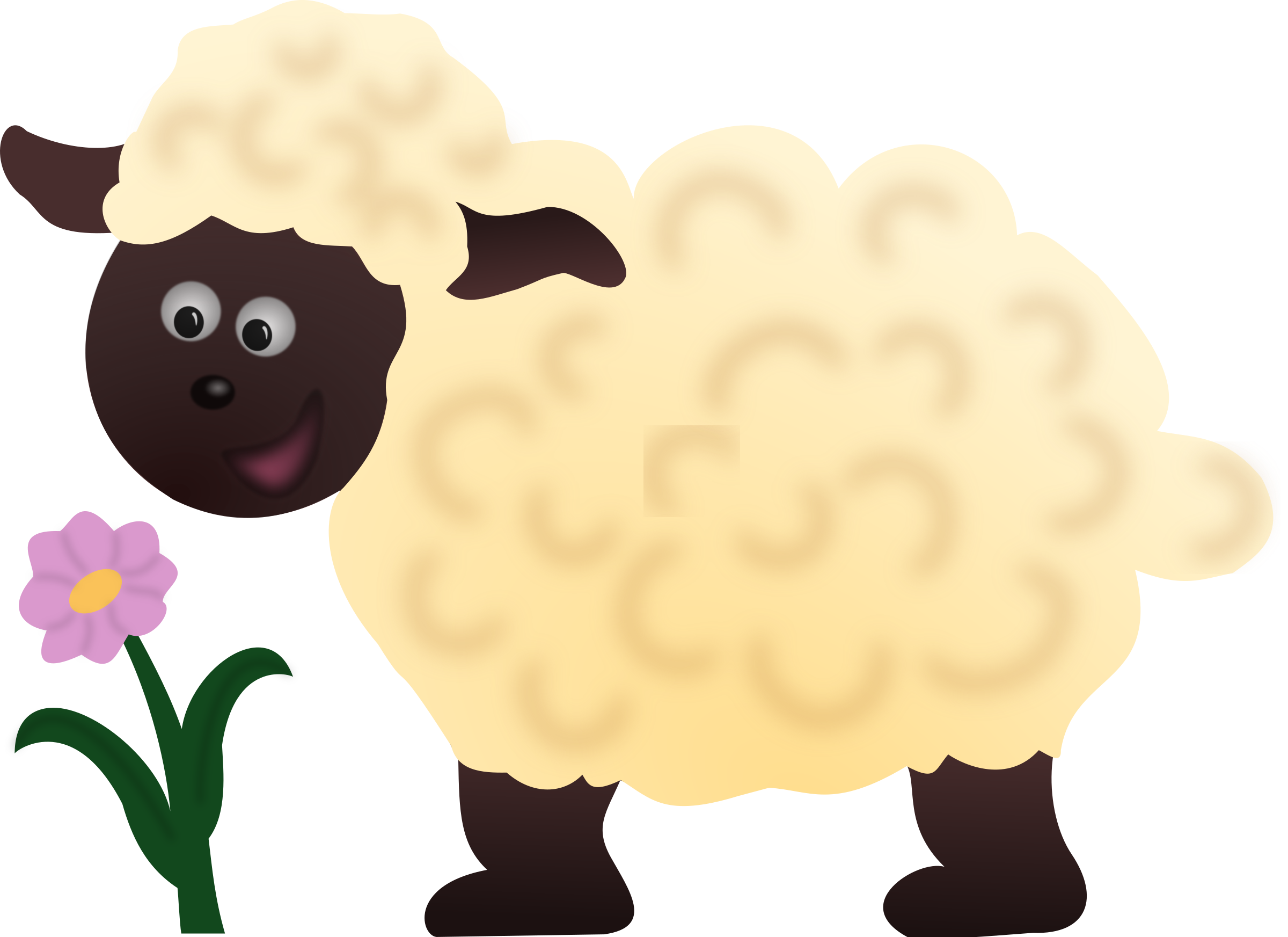 jpg transparent Sheep dog free on. Lamb clipart