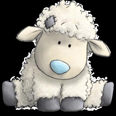 clip art royalty free stock Lamb clipart baby lamb. Blue nose friends photo.