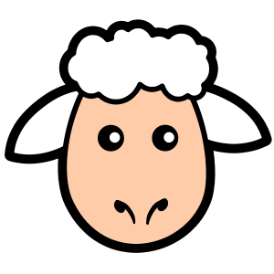 graphic free download Grey free on dumielauxepices. Lamb clipart counting sheep.