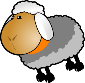 clip library download Lamb clipart fluffy sheep. Grey free on dumielauxepices.