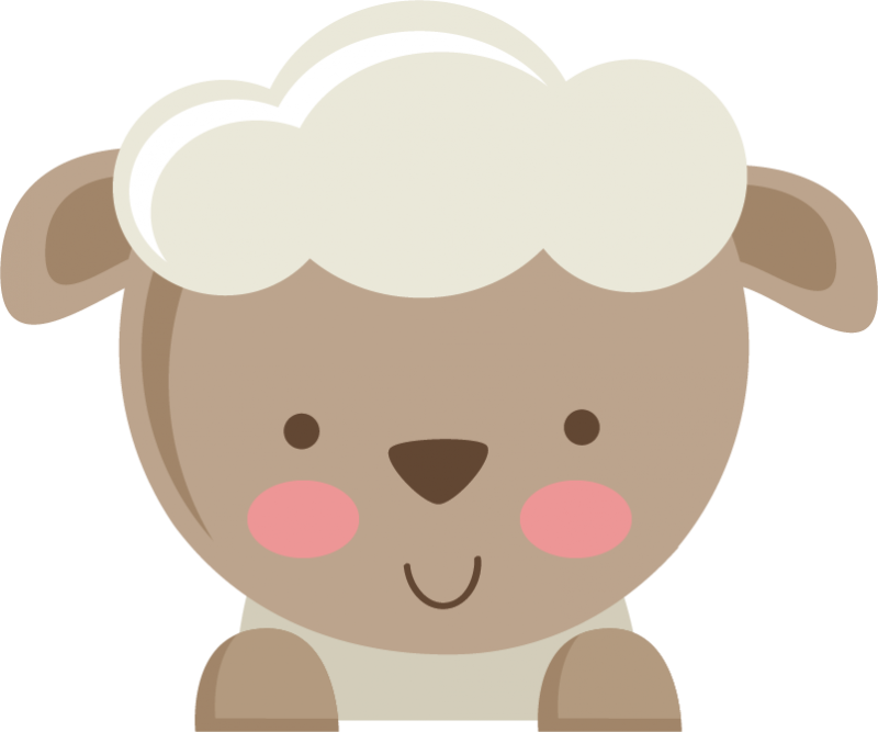 banner library Lamb clipart fluffy sheep. Cute free on dumielauxepices.