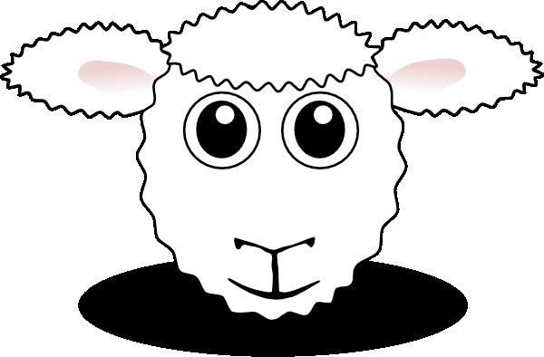 png transparent library Lamb face clipart. Sheep clip art at