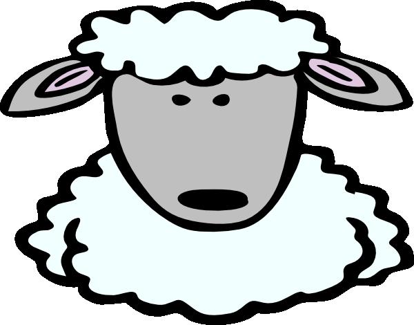 png transparent library Sheep clip art at. Lamb face clipart