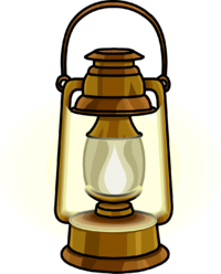 banner royalty free download  beauty oil lamp. Camping lantern clipart