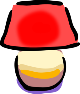 jpg transparent download Lamp clipart red lamp. Clip art at clker.