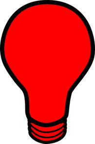 picture freeuse stock Light bulb clip art. Lamp clipart red lamp.