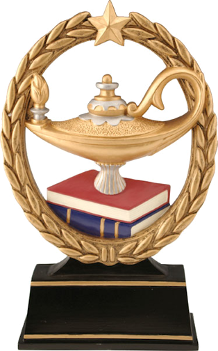 graphic library library Lamp of knowledge clipart. Resin negspace zenith engraving
