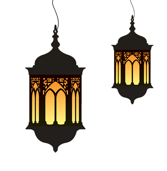picture royalty free download Ramadan Lamp Duo transparent PNG