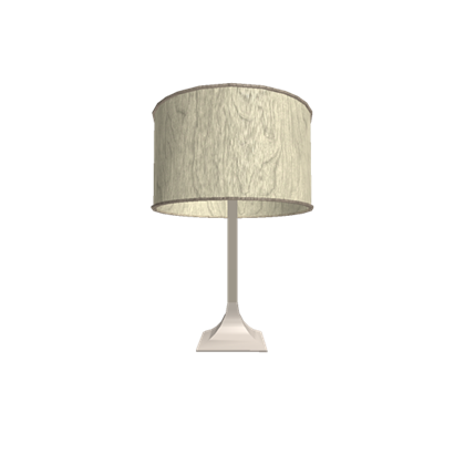 png black and white library Simple Cream Table Lamp