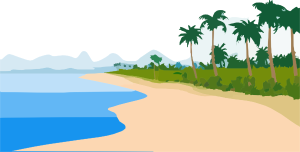 banner freeuse download Beachfront Clip Art at Clker