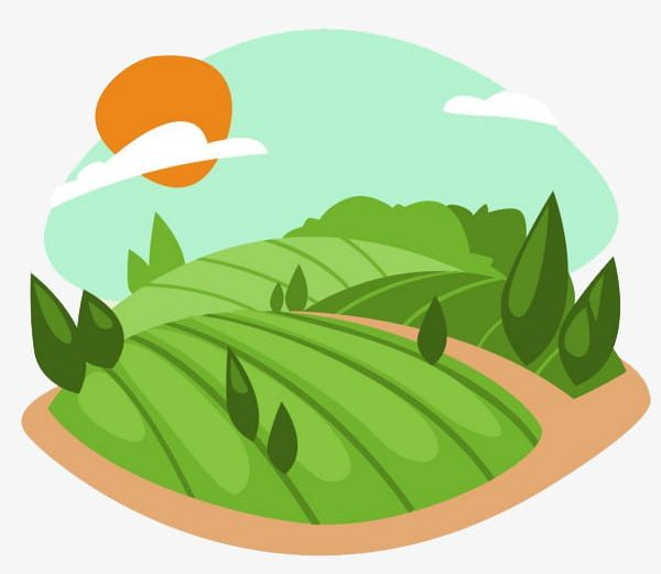 clip art royalty free download Green png cultivate food. Land clipart.