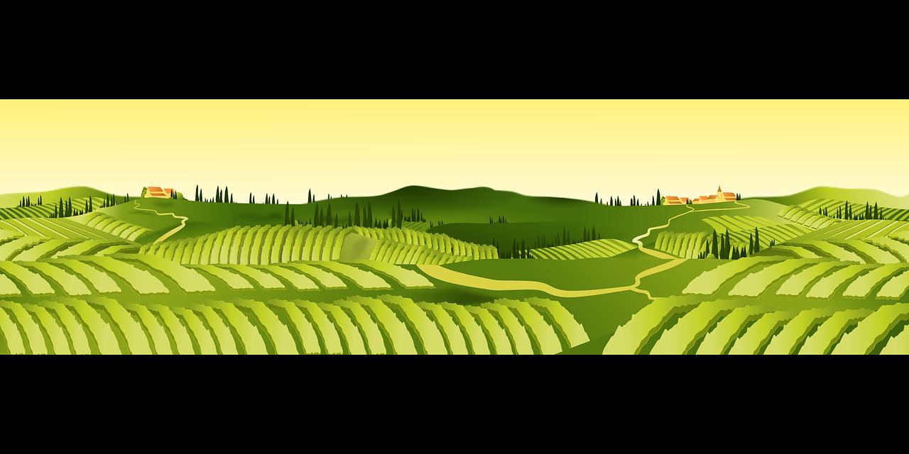 transparent Land clipart crop field. Agriculture farm agricultural clip.