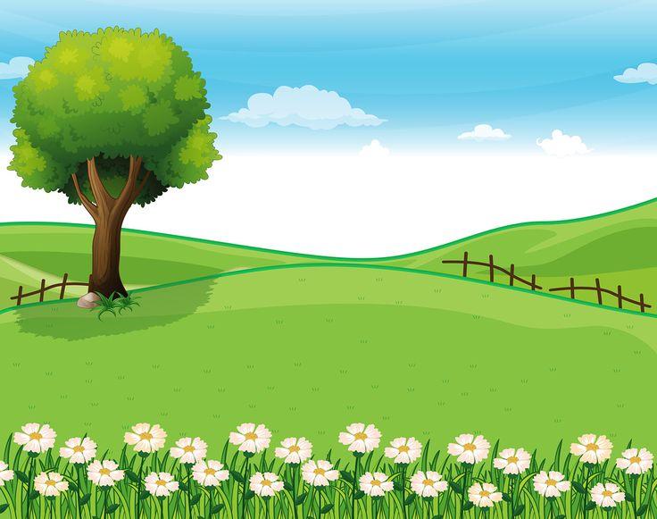 graphic download Free nature cliparts download. Landscape clipart.