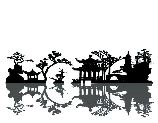 image transparent download Silhouette at getdrawings com. Landscape clipart landscape painting.