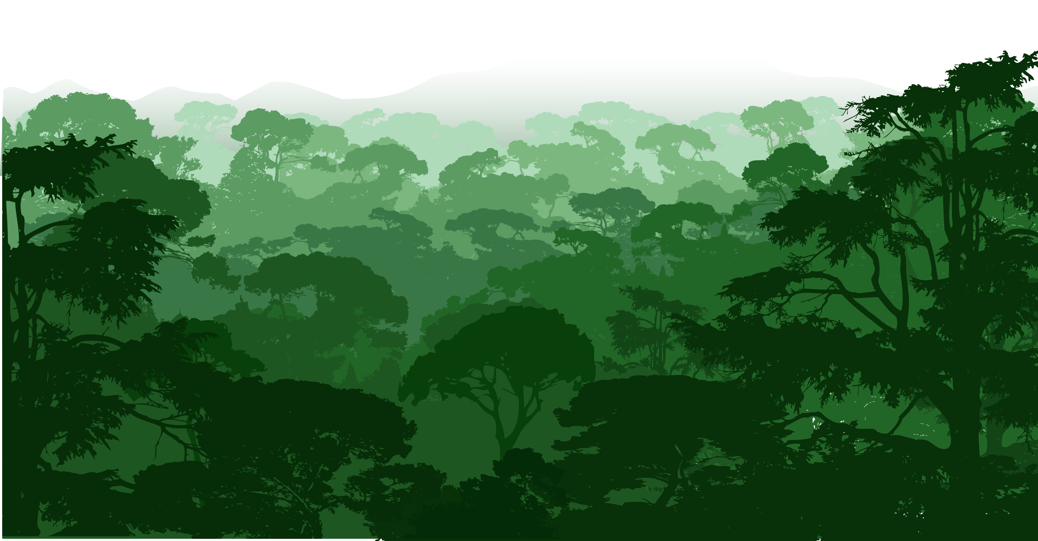 svg black and white download Royalty free landscape clip. Forest clipart