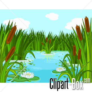 jpg transparent stock Duck dynasty theme clip. Landscaping clipart pond grass.