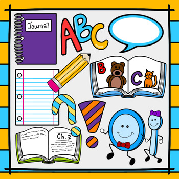 png library Language art clipart. Back to school reading