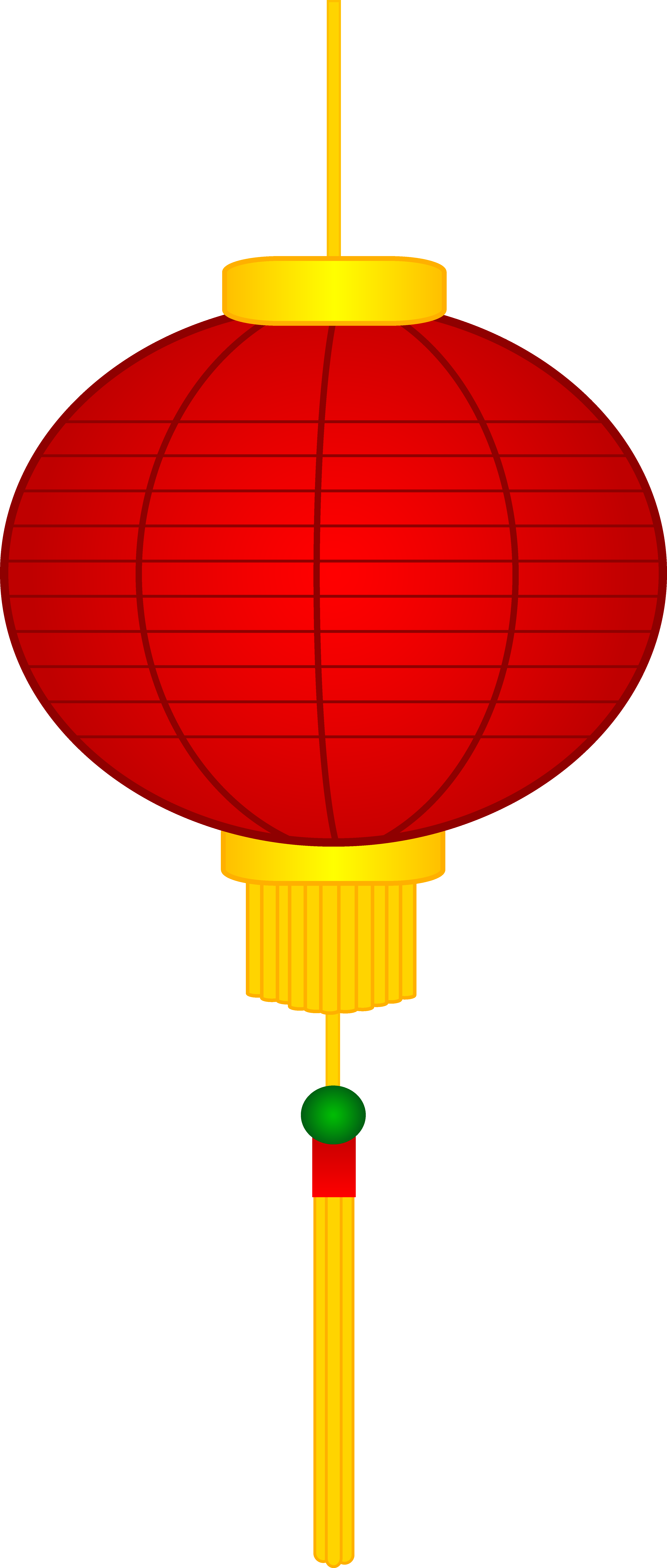 graphic stock Asian Lantern Clipart