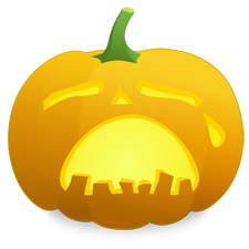 vector freeuse stock Jack o and halloween. Lantern clipart animated.