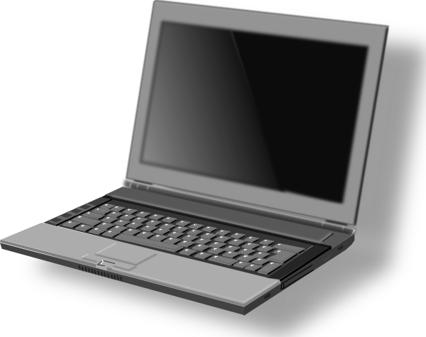 transparent Laptop clipart front. Netbook free on dumielauxepices.