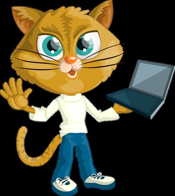 clip transparent stock Free image on pixabay. Laptop clipart little student.
