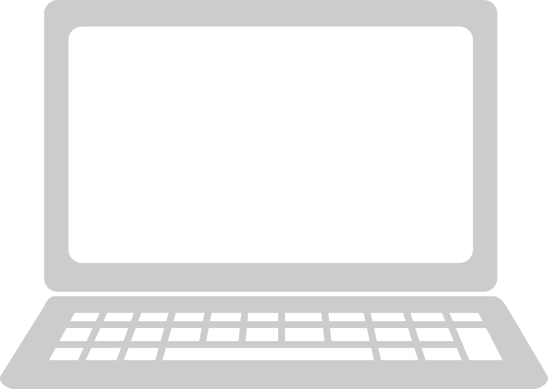 png black and white Computer icon medium image. Laptop keyboard clipart