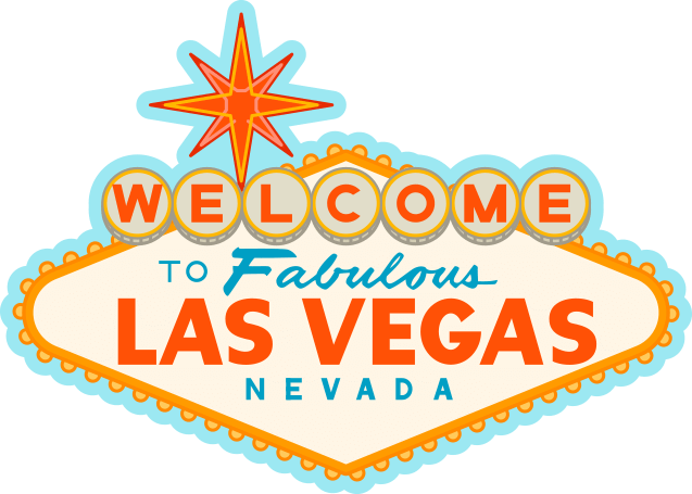 clipart royalty free stock Sign drawing transparent png. Las vegas clipart