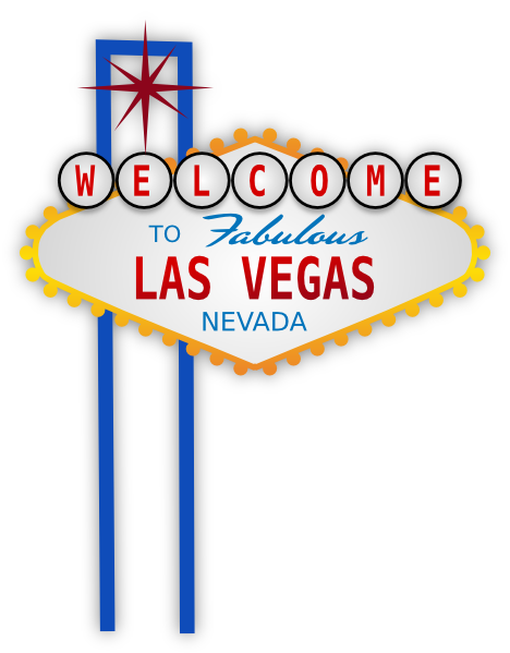 picture black and white Las vegas clipart diy. Sign clip art at