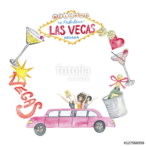 vector transparent library Las vegas clipart illustration. Casino watercolor hand painted