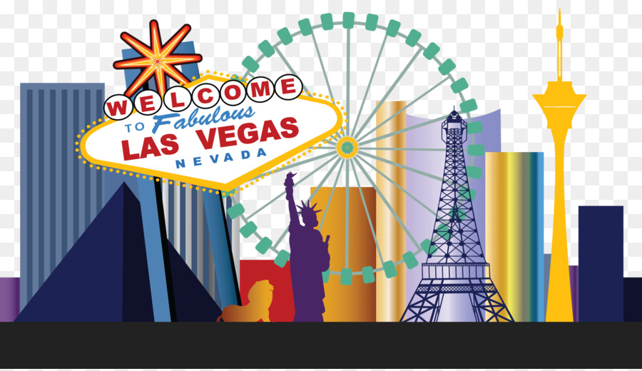 clip royalty free library Las vegas clipart illustration. Park cartoon text line