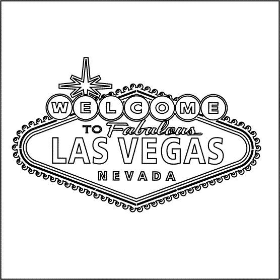 graphic Las vegas clipart outline. Pin on party