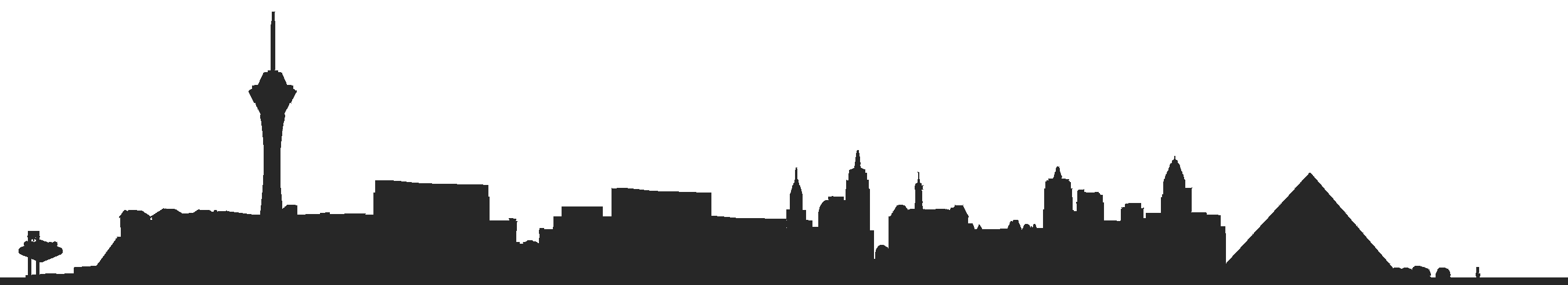 picture freeuse download Las Vegas Silhouette at GetDrawings
