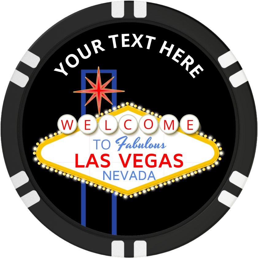 jpg black and white download Las vegas clipart poker chip. Blank sign clay composite