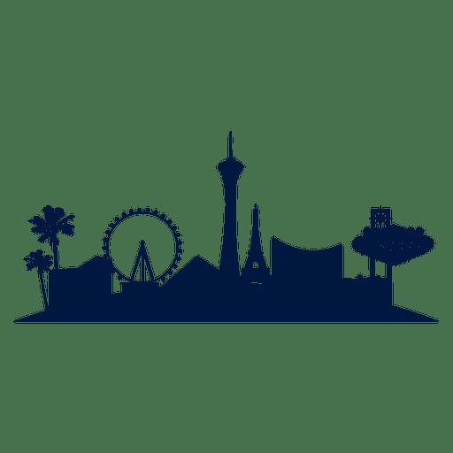 clip art download Las vegas clipart vector. Skyline cityscape transparent png