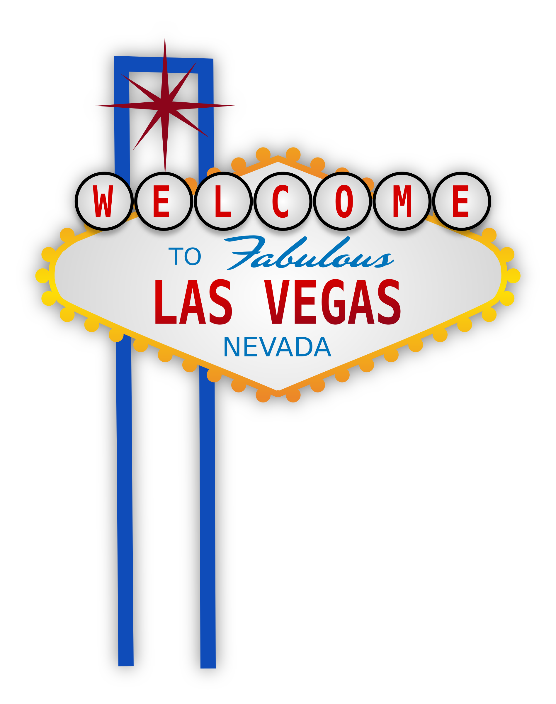 svg library library Welcome to fabulous sign. Las vegas clipart vector