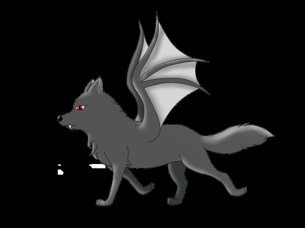 clip art transparent library bat wolf by MLP